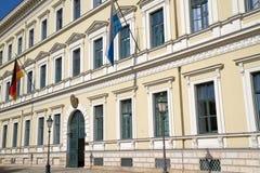 Bayerisches Innenministerium in München Stockfotografie