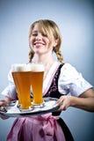 Bayerisches Mädchen Lizenzfreies Stockbild