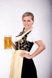 Bayerisches Mädchen stockfoto