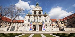 Bayerisches-nationalmuseum - München stockbild