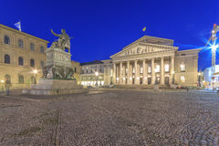 Bayerisches Nationaltheater Lizenzfreie Stockfotos