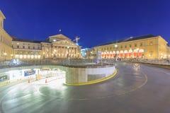 Bayerisches Nationaltheater стоковое изображение rf