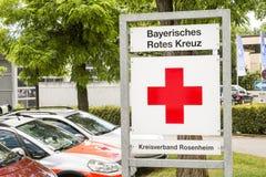 Bayerisches Rotes Kreuz Photographie stock libre de droits