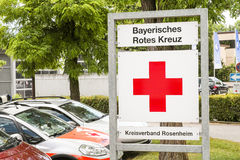 Bayerisches Rotes Kreuz Royalty Free Stock Photography