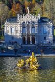 Bayern, Deutschland - 15. Oktober 2017: Linderhof-Palast 1863-188 Stockbilder