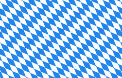 Bayern diamonds blue background Oktoberfest Royalty Free Stock Image