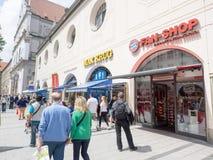 Bayern München Fan Shop Royalty Free Stock Photography