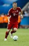 Bayern München gegen Chelsea FC UEFA-CL Schluss Stockfotografie