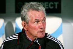 Bayern Munchen's coach Jupp Heynckes Stock Photos