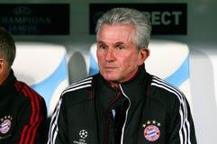 Bayern Munchen's coach Jupp Heynckes Royalty Free Stock Images