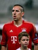 Bayern Munchen's Franck Ribery Stock Image