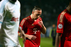 Bayern Munchen's Franck Ribery Royalty Free Stock Photography