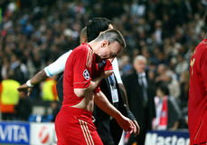 Bayern Munchen's Franck Ribery Stock Images