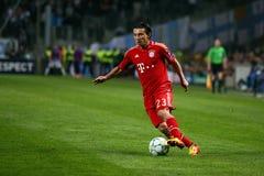 Bayern Munchens Danijel Pranjic Stockfotos