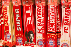 Bayern Munich Fan Shawls Stock Photos