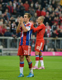 Bayern Munich v Paderborn 230914 Royalty Free Stock Image