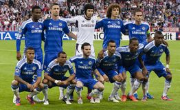 Bayern Munich vs. Chelsea FC UEFA CL Final Stock Photos