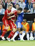 Bayern Munich vs. Chelsea FC UEFA CL Final Royalty Free Stock Photography