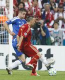 Bayern Munich vs. Chelsea FC UEFA CL Final Royalty Free Stock Photo