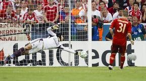 Bayern Munich vs. Chelsea FC UEFA CL Final royalty free stock photos