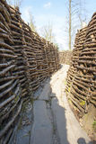 Bayernwald Trenches world war one flanders Belgium Stock Photo