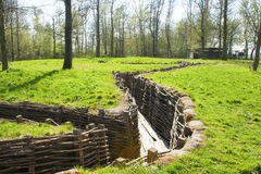 Free Bayernwald Trenches World War One Flanders Belgium Royalty Free Stock Photos - 39587578