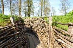 The Bayernwald Trenches world war one flanders Belgium Stock Photos
