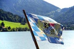 Bayersk flagga Arkivfoto