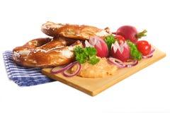 Bayersk frukost Arkivbild