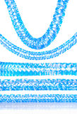 Bayersk girland Arkivbild