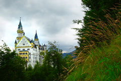 Bayersk Neuschwanstein slott Arkivfoton