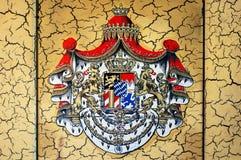 Bayersk vapensköld royaltyfri illustrationer
