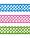Bayerska band vektor illustrationer