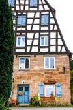 Bayerskt hus Arkivbild
