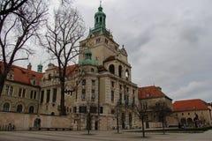 Bayerskt nationellt museum munich germany Royaltyfri Bild