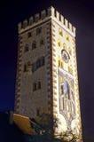 Bayertor, башня строба в Landsberg am Lech, Баварии Стоковые Изображения RF