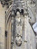 Bayeux architektury Katedralny szczegół, Francja Fotografia Royalty Free