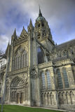 Bayeux Cathedral. Is a Gothic church in Normandy Stock Photo