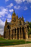Bayeux Cathedral. Notre Dame Cathedral in Bayeux Normandy, France Royalty Free Stock Photography
