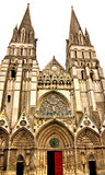 Bayeux Cathedral in Normandy Stock Image