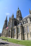 Bayeux cathedral. Picture of the Cathedral of Bayeux in France Stock Photography
