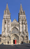 Bayeux Cathedrale. Cathedrale Notre-Dame de Bayeux, France, Normandy Stock Images