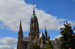 Bayeux (France) on JULY 2014. Church in Bayeux   (France) on JULY 2014 Royalty Free Stock Images