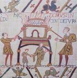 Bayeux makata zdjęcie royalty free