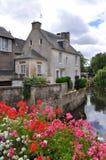 Bayeux in Normandië, Frankrijk Royalty-vrije Stock Foto