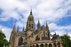 Bayeux in Normandy, France. Cathedrale in Bayeux in Normandy, France Royalty Free Stock Image