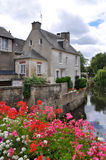 Bayeux in Normandy, France. Old House in Bayeux in Normandy, France Royalty Free Stock Photo