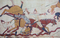 Bayeux tapestry Royalty Free Stock Images
