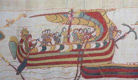 Bayeux tapestry Royalty Free Stock Image