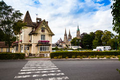 Bayeux. The town of Bayeux in France, has some unique buildings Stock Image